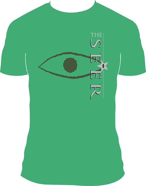 T-Shirt 'Across The Border 25', light green