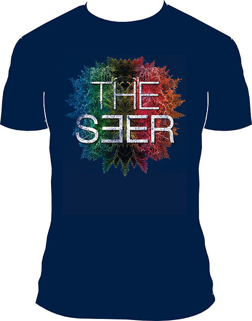 T-Shirt 'THE SEER 30 live', navy