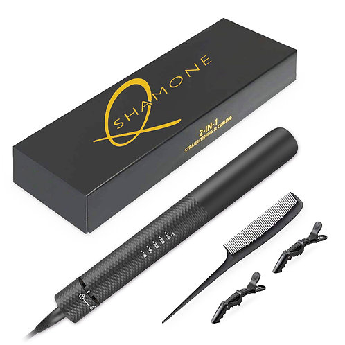 Q.Shamone Straightening and Curling Flat Iron