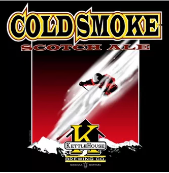 Kettle House Brewery Cold Smoke Scotch Ale (Missoula, Mt.)