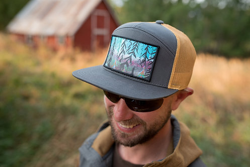 Frozen Forest Trucker Hat