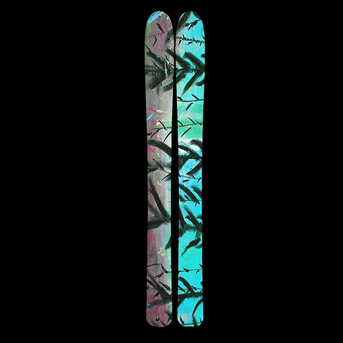 Frozen Forest Custom Skis