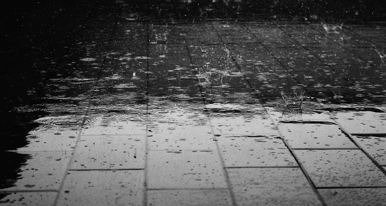 急な天候の変化