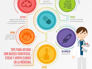 6 TIPS PARA ACTUAR CON BASES CIENTÍFICAS, ÉTICAS Y APOYO CLÍNICO EN LA MÉDICINA.