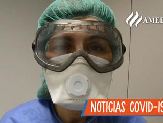 Ropa que el personal médico NO DEBE PORTAR para protegerse del Covid-19