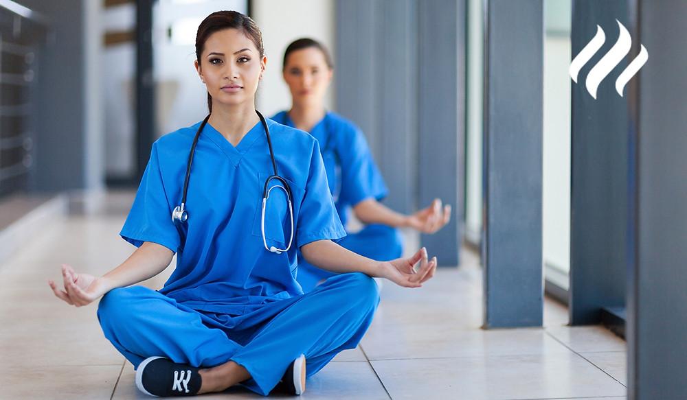 Pausa activa en médicos