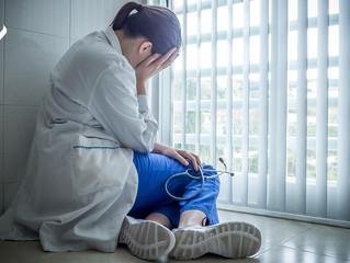 Depresión médica y pensamientos que conducen a ella