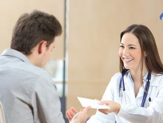 ¿Qué busca los pacientes al momento de acudir a consulta médica?