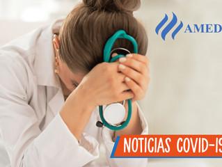 Van 35 agresiones contra médicos en México relacionadas con el Covid-19