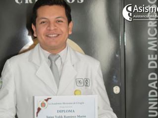 Residente de Cirugía General gana concurso por su proyecto de Medicina Regenerativa