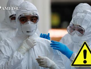 Suman 2 médicos infectados con Covid-19 en México