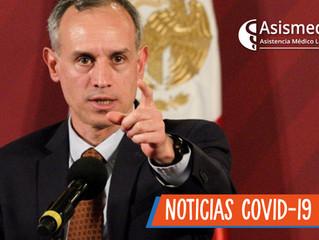 México todavía no está en condiciones de entrar a la fase 3 por Covid-19