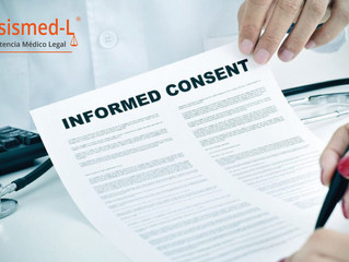 Los casos en los que se debe elaborar un consentimiento informado.