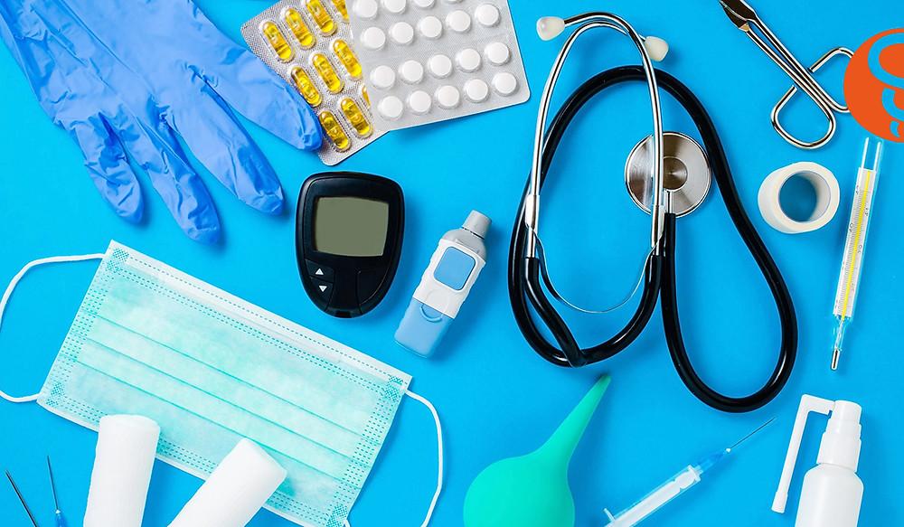 Robo de equipo médico