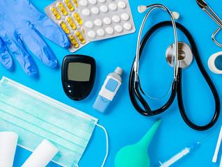 Robo de equipo médico dentro del consultorio.