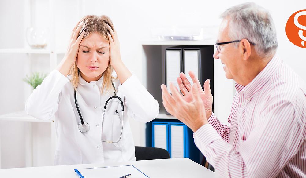 Medico paciente