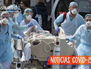 Médicos reciben amenazas para que no renuncien por la pandemia