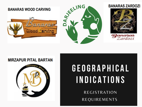 Requirements for Geographical Indication registration