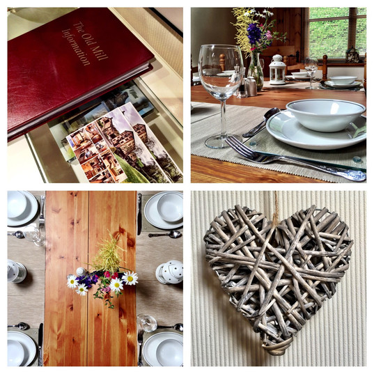 The Old Mill Holiday Cottages - North Wales Holiday Cottages CH7 5RH