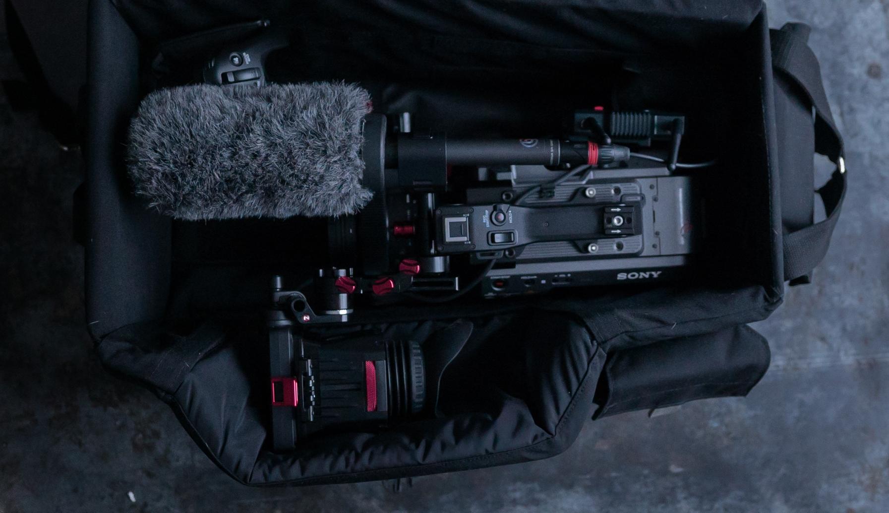 Sony FX9 i Porta Brace bag