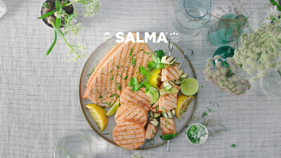 """Salma """"How to grill"""""""