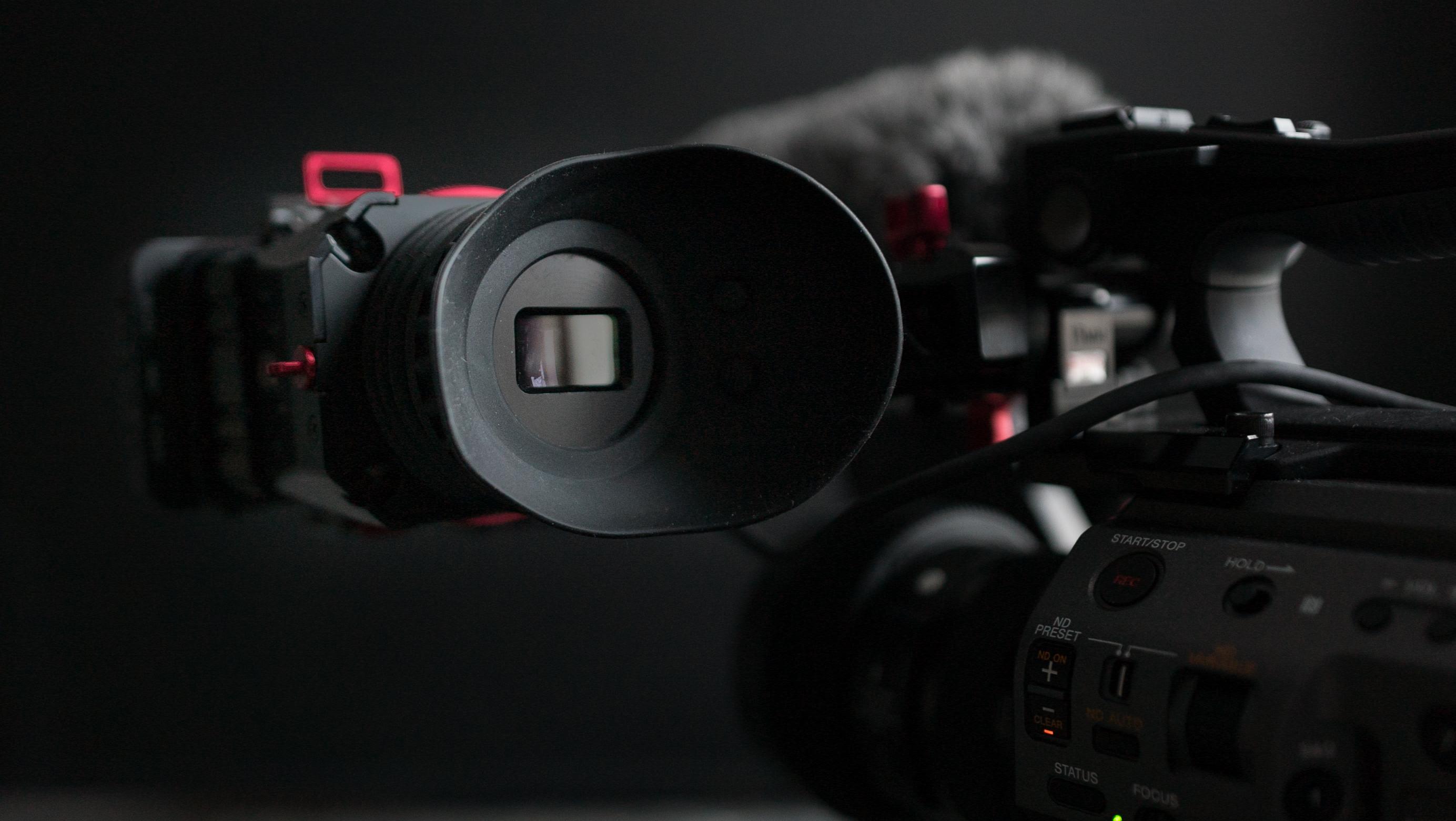 Zacuto viewfinder