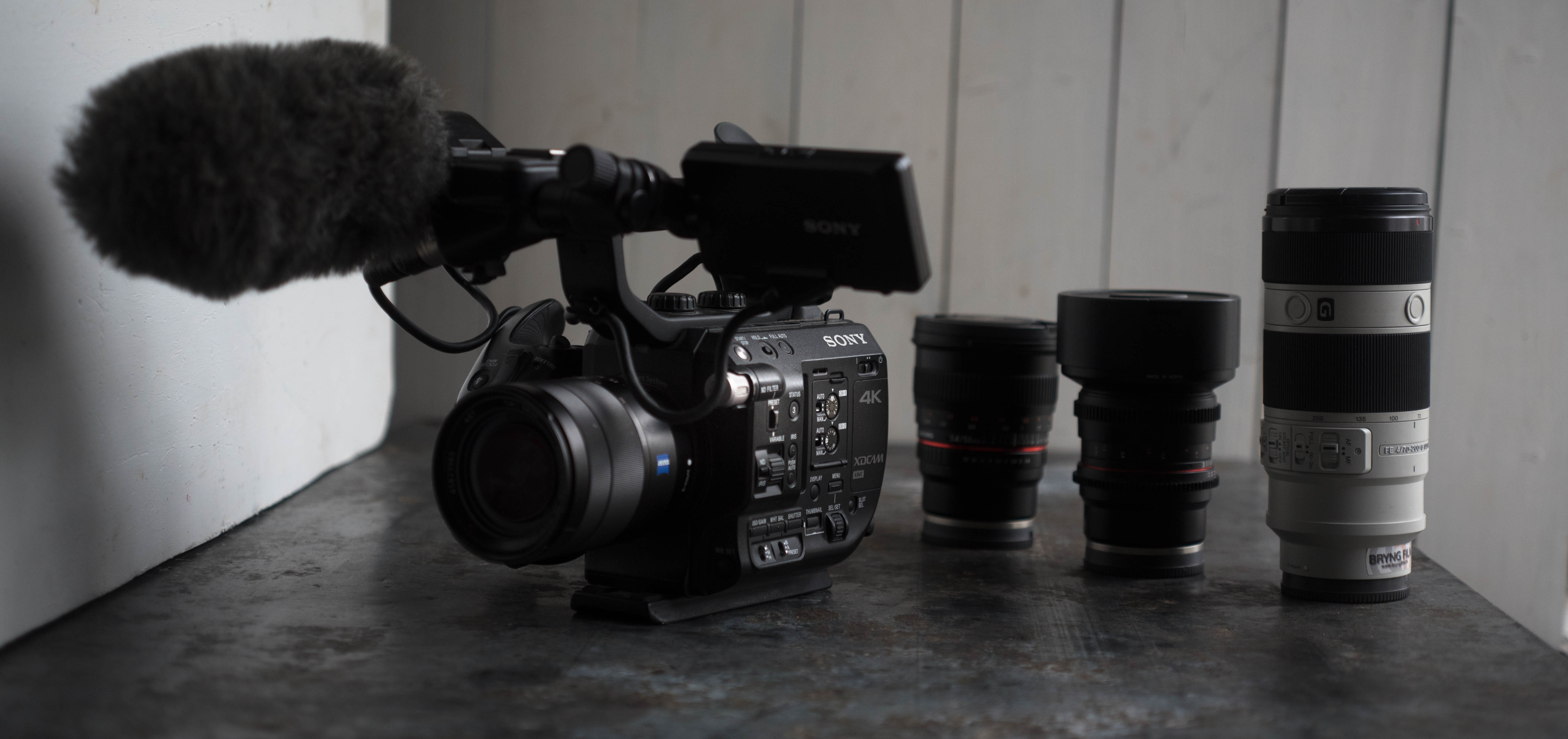 Sony FS5 - Camera package