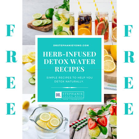 FREE DOWNLOAD! Herb Infused Detox Water Recipes