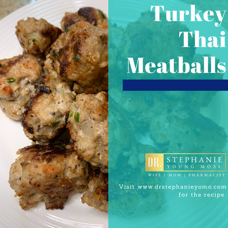 Turkey Thai Meatballs