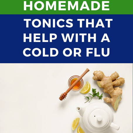 Homemade Tonics That Help With a Cold or Flu