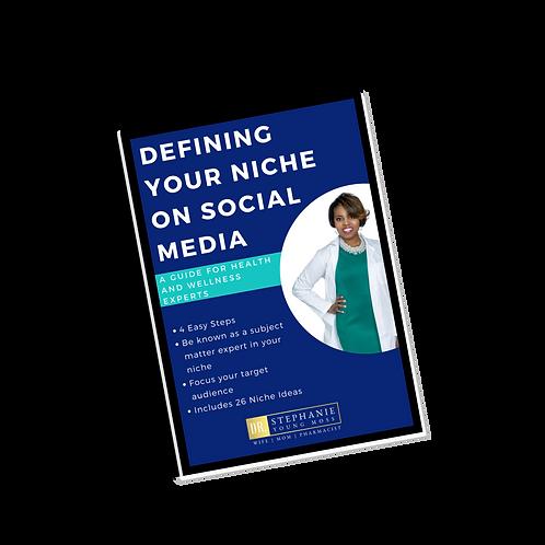 Defining Your Niche Workbook