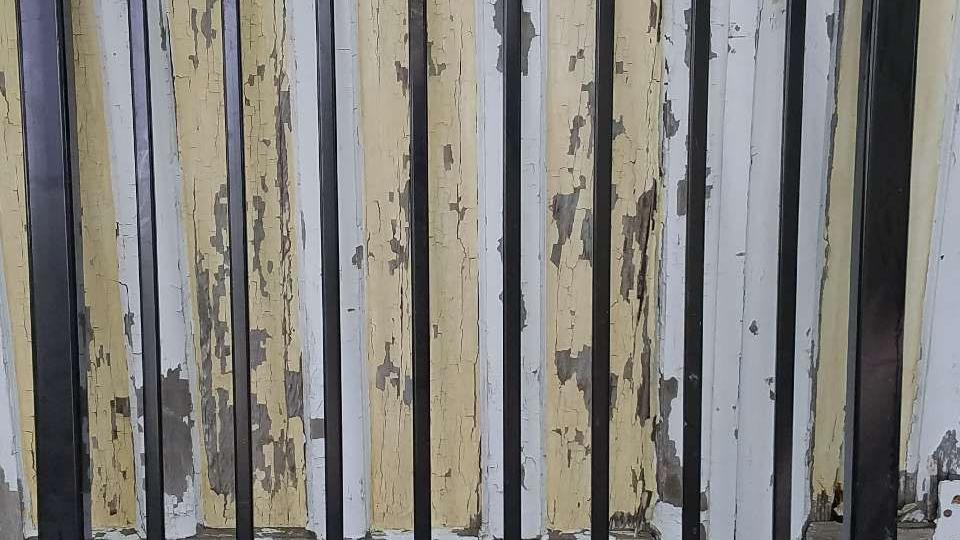 4'x4' black aluminum gate