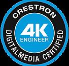 Crestron Certified DM 4K Engineer, Crestron Digital Media 4K Engineer South Africa, Crestron Engineers Africa