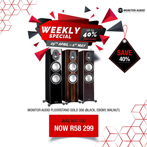Monitor Audio Gold 300 Speakers