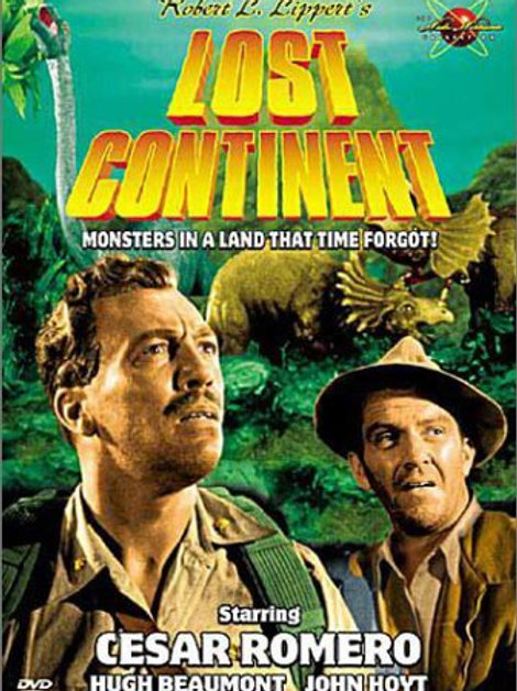 CONTINENTE PERDIDO (Lost Continent, 1951)