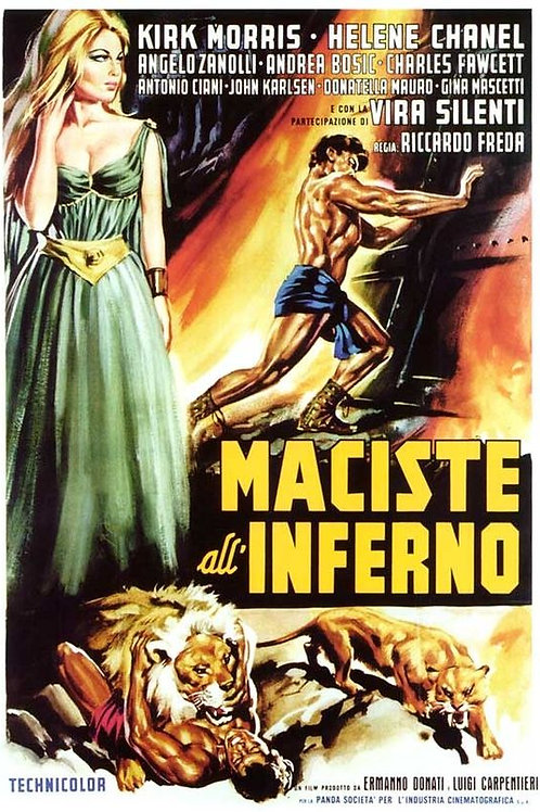 MACISTE NO INFERNO (Maciste nell'inferno di Gengis Khan, 1964)