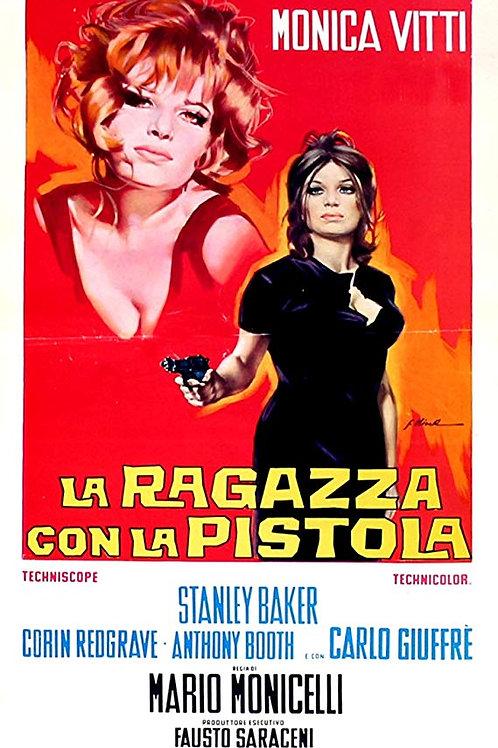 A GAROTA COM A PISTOLA (La Ragazza con la Pistola, 1968)