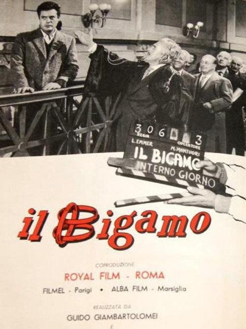 BÍGAMO À FORÇA (Il Bigamo, 1956)
