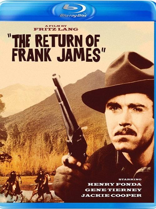 A VOLTA DE FRANK JAMES (The Return of Frank James, 1959) Bluray