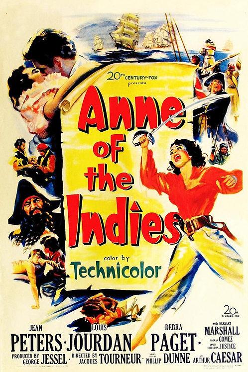 A VINGANÇA DOS PIRATAS (Annie of The Indies, 1951)