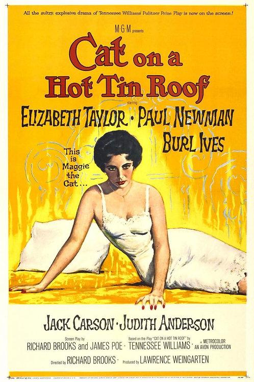 GATA EM TETO DE ZINCO QUENTE (Cat On A Hot Tin Roof, 1951)