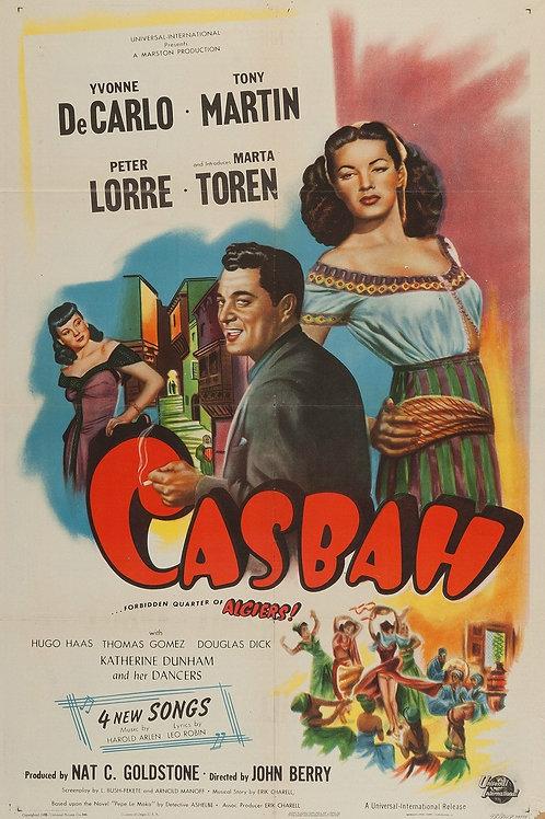 CASBAH, O REDUTO DA PERDIÇÃO (Casbah,