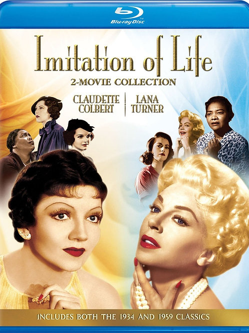IMITAÇÃO DA VIDA (Imitation of Life, 1935-1959) 2-FILMES
