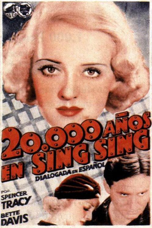 20.000 ANOS EM SING SING (20.000 Years In Sing Sing, 1932)