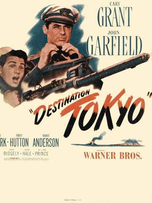 RUMO À TÓQUIO (Destination Tokyo, 1943)