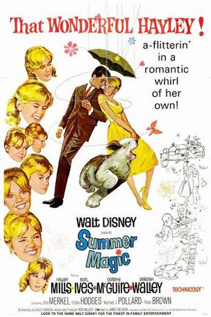 DOCE VERÃO DE MEUS SONHOS (Summer Magic. 1963)