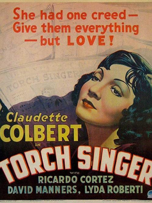 VOZES DO CORAÇÃO (Torch Singer, 1933)