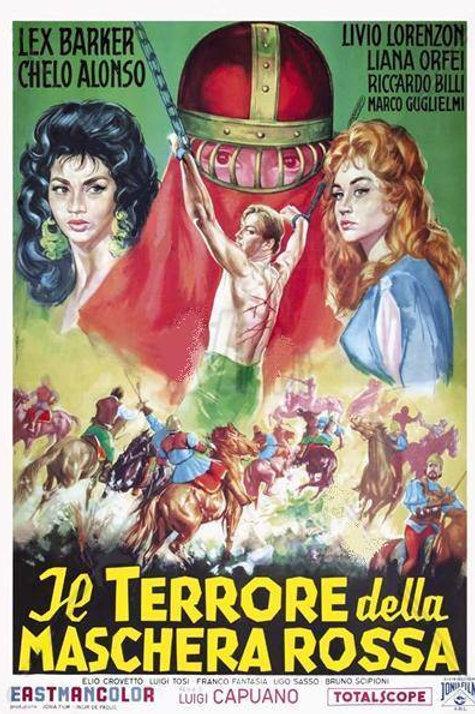 O TERROR DA MÁSCARA VERMELHA (Il Terrore Della Maschera Rossa, 1960)