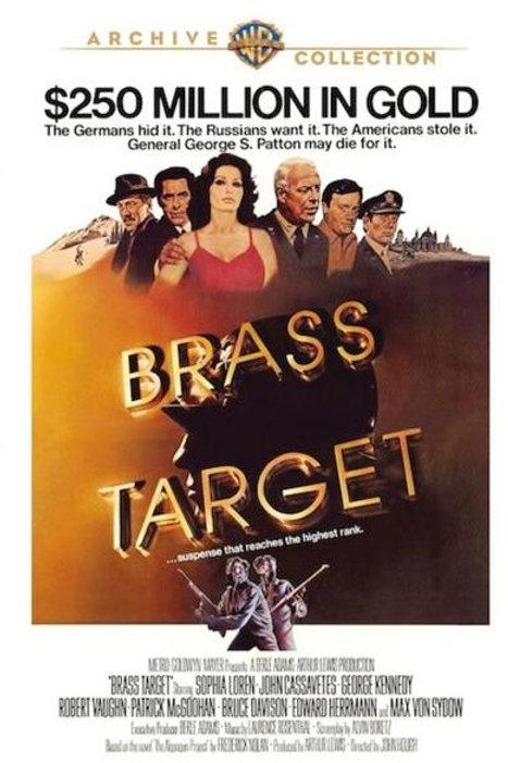 O ALVO DE QUATRO ESTRELAS (Brass Target, 1978)