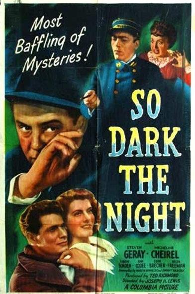 SATÃ PASSEIA A NOITE (So Dark The Night, 1946)